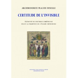 CERTITUDE DE L'INVISIBLE