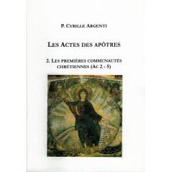LES ACTES DES APÔTRES 2