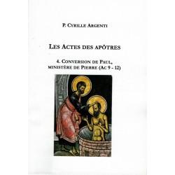 LES ACTES DES APÔTRES 4