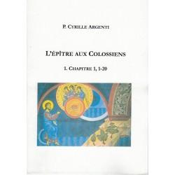 L'ÉPÎTRE AUX COLOSSIENS 1