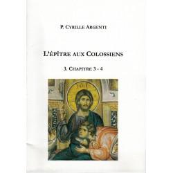 L'ÉPÎTRE AUX COLOSSIENS 3